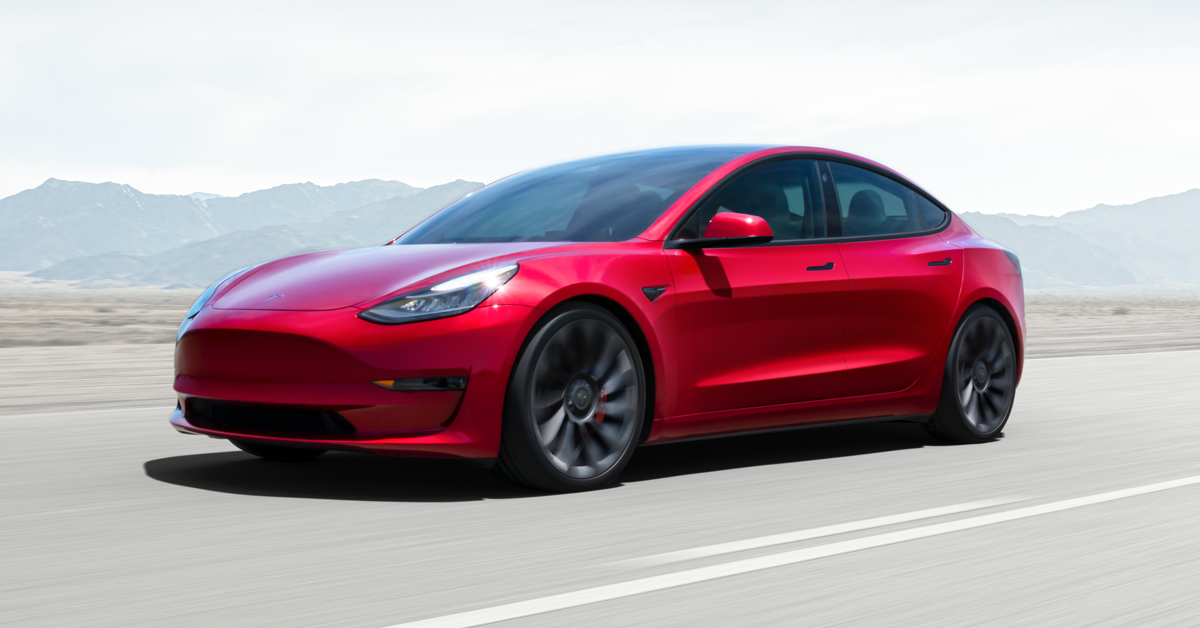Tesla's Model 3 was the best-selling electric car in China in 2020