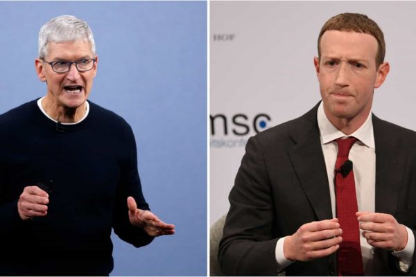 In the last few months we have seen a series of 'attacks' between the CEOs of Facebook and Apple - Mark Zuckerberg and Tim Cook, respectively - regarding user privacy and data protection. At the heart of the controversy is the iOS 14.5 update that was released this Tuesday, the 27th, for iPhones and the way it requires digital platforms to ask users for permission to access their data.