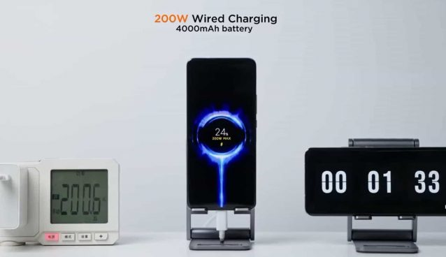 Xiaomi managed to recharge 100% of a mobile phone in 8 minutes