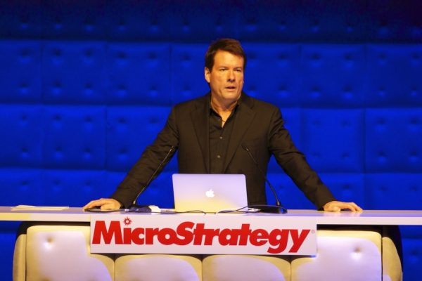 MicroStrategy sold $500 Million in debt to buy more bitcoin and the price rises