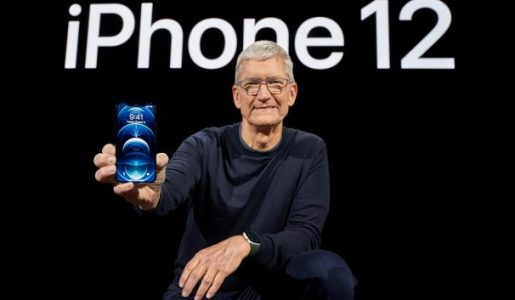 Apple, at all-time highs, raises iPhone production by 20% this year