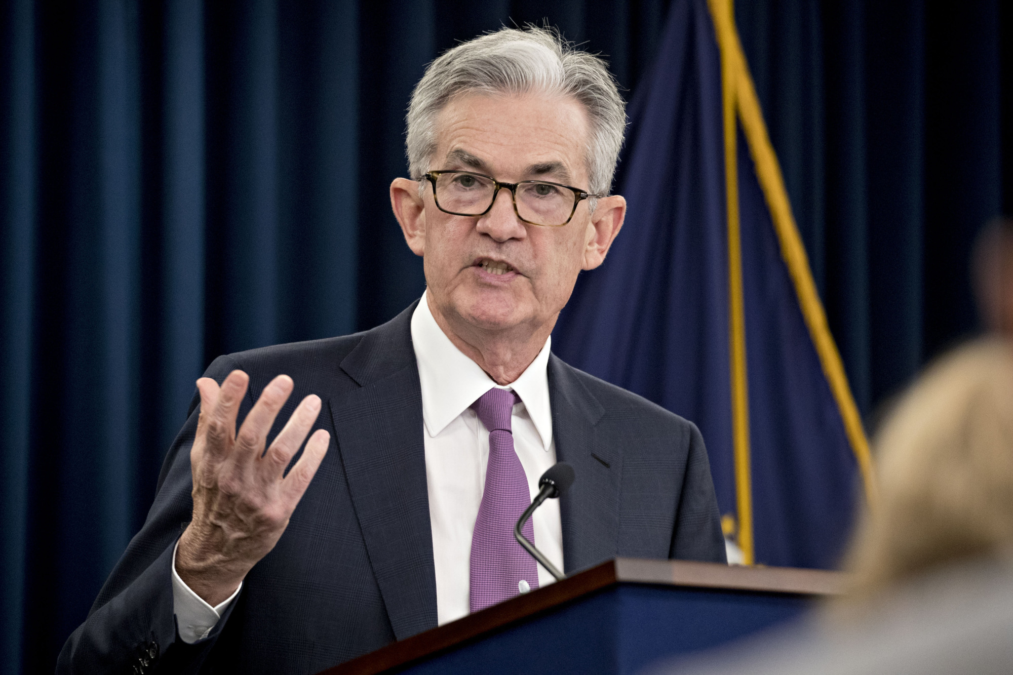 Fed Chairman Jerome Powell met with Coinbase CEO in May of this year, according to reporters