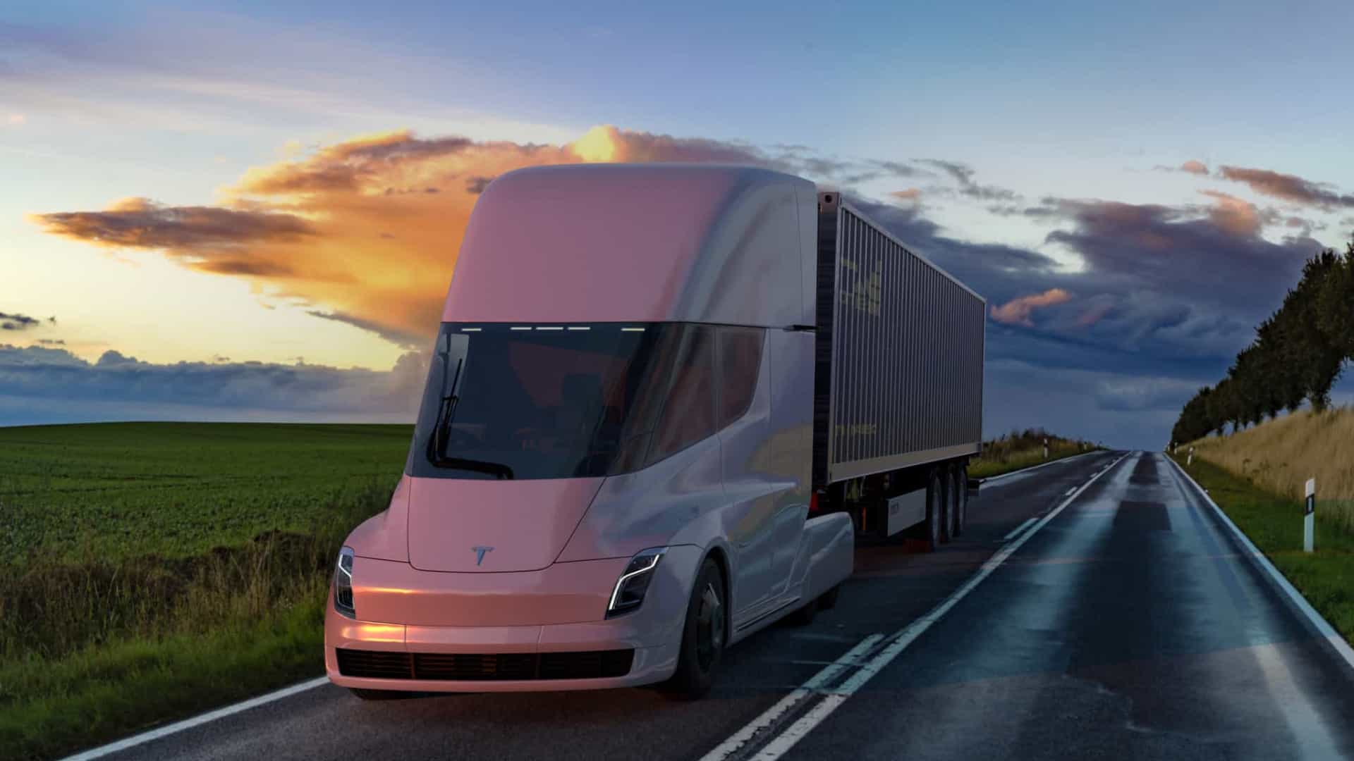 Tesla postponed the launch of the Semi electric truck